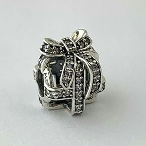PANDORA All Wrapped Up Sterling Silver Charm